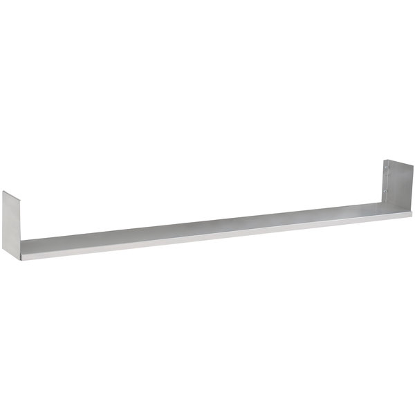 "Advance Tabco TDS-4 Dish Shelf - 62 3/8"" x 7"""