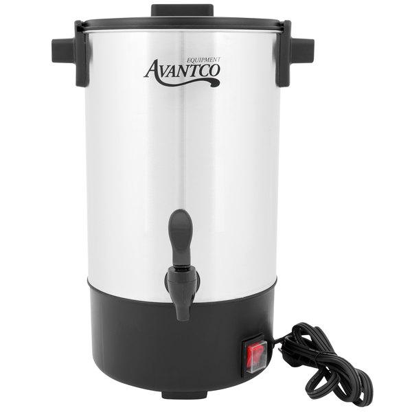Avantco CU30 30 Cup (1.1 Gallon) Stainless Steel Coffee Urn
