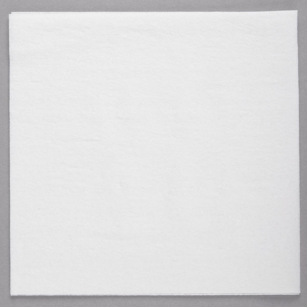 Choice White Linen-Feel 1/4 Fold Dinner Napkin - 800/Case