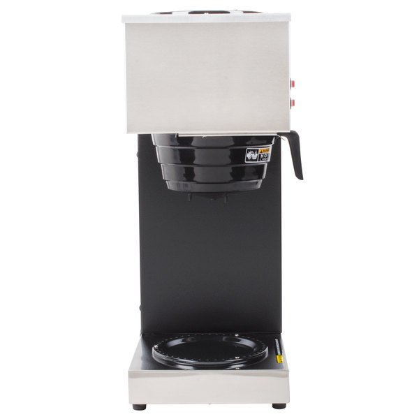 Bunn 33200.0000 VPR 12 Cup Pourover Coffee Brewer with 2 Warmers - 120V