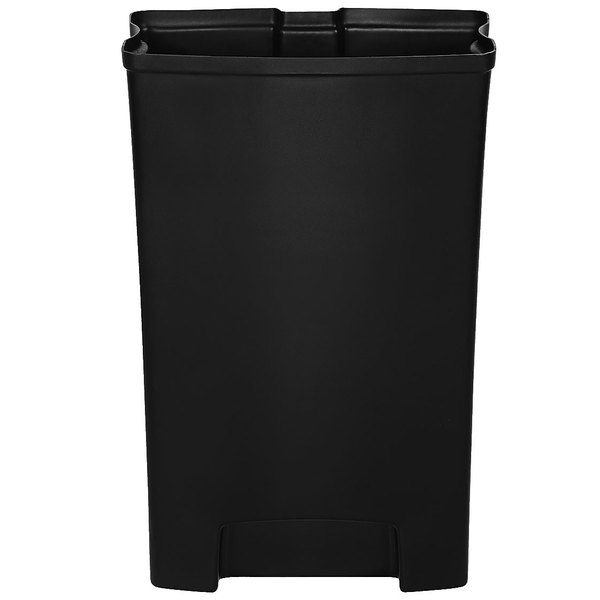Rubbermaid 1883621 Slim Jim Black Rigid Plastic Liner for 24 Gallon Resin Front Step-On Trash Can