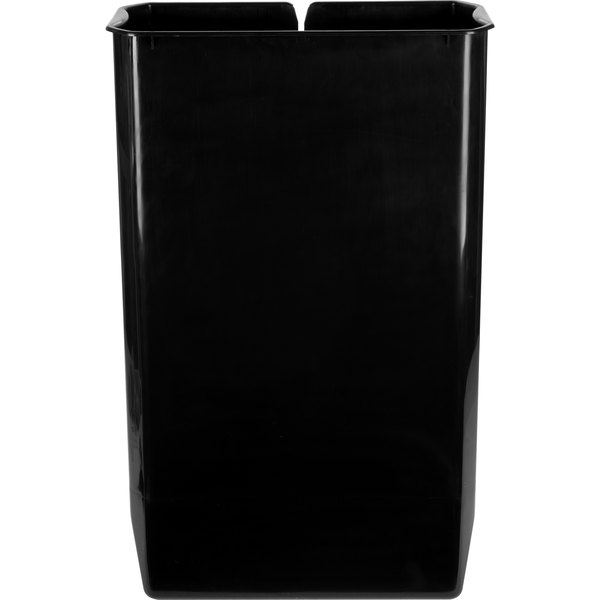 Rubbermaid 1900896 Slim Jim Black Rigid Plastic Liner for 13 Gallon Stainless Steel End Step-On Trash Can Main Image 1