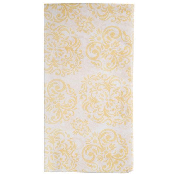 Lavex Lodging Linen-Feel Elite 1/6 Fold Guest Towel  - 500/Case