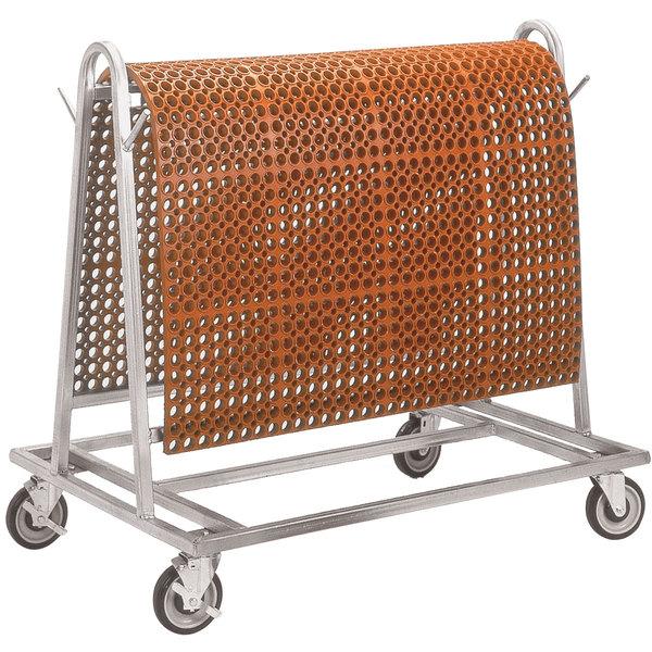 Notrax T44RACK00 Rak-A-Mat Floor Mat Storage and Transport Cart Main Image 1