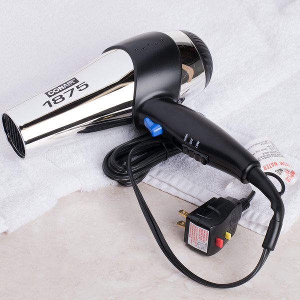 Conair 070RACHNW Chrome Hair Dryer - 1875W