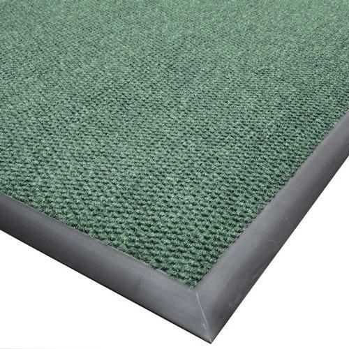 "Cactus Mat 1410M-G46 Ultra-Berber 4' x 6' Sea Green Anti-Fatigue Carpet Mat - 1/2"" Thick"