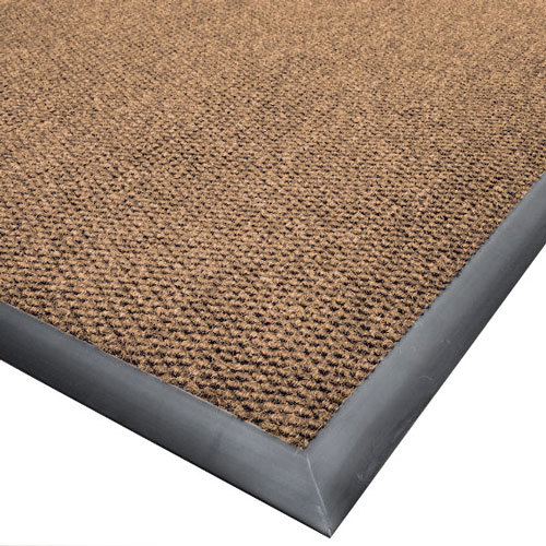 """Cactus Mat 1410M-N46 Ultra-Berber 4' x 6' Natural Anti-Fatigue Carpet Mat - 1/2"""" Thick Main Image 1"""