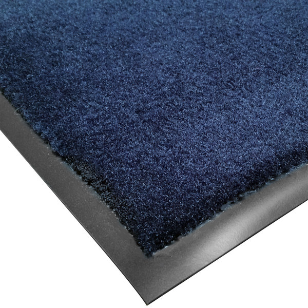 Cactus Mat 1438R-U3 Tuf Plush 3' x 60' Olefin Carpet Entrance Floor Mat Roll - Navy Main Image 1