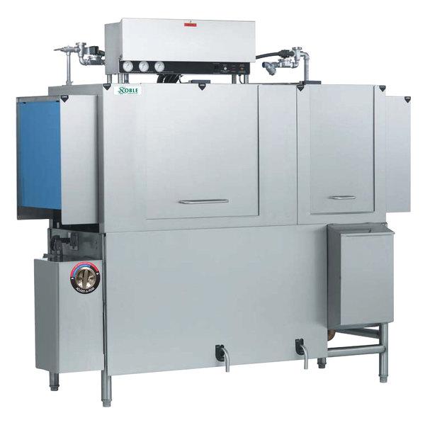 Noble Warewashing 66 Conveyor High Temperature Dishwasher - Right to Left, 230V, 3 Phase
