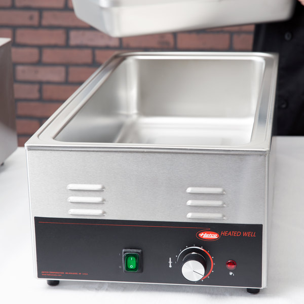 Hatco HW-43 4/3 Size Countertop Food Warmer - 120V, 1200W Main Image 4