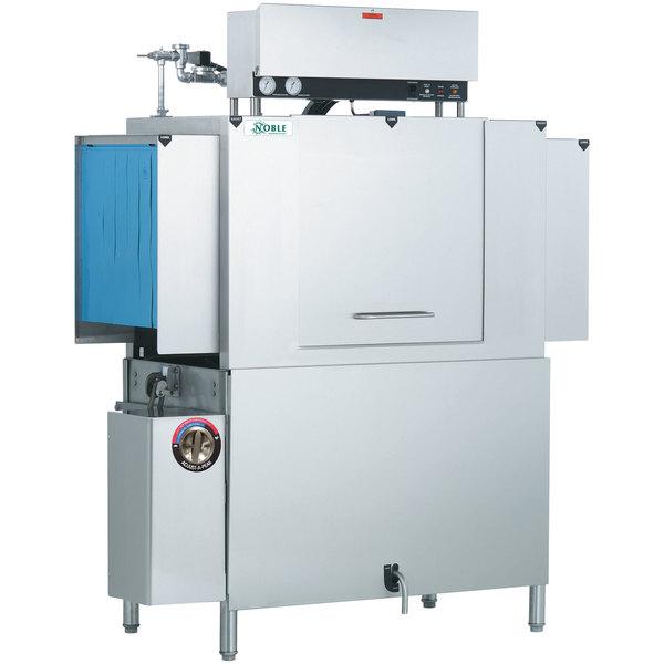 Noble Warewashing 44 Conveyor High Temperature Dishwasher - Left to Right