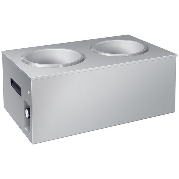 Hatco SW2-7QT Double Well 7 Qt. Soup Warmer - 120V, 750W