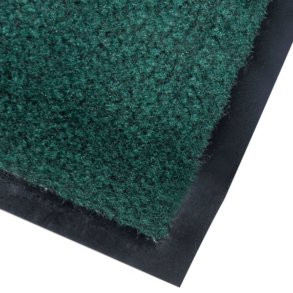 "Cactus Mat 1462R-G4 Catalina Premium-Duty 4' x 60' Green Olefin Carpet Entrance Floor Mat Roll - 3/8"" Thick"