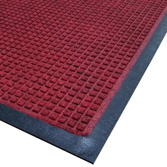 Cactus Mat 1425M-R41 Water Well I 4' x 10' Classic Carpet Mat - Red Main Image 1