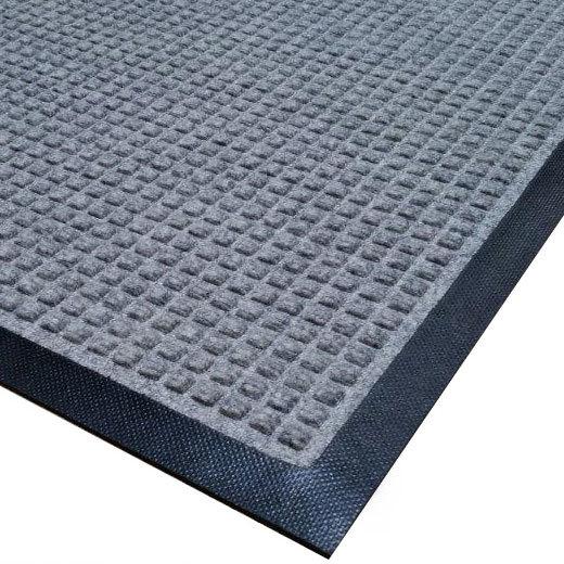 Cactus Mat 1425M-E31 Water Well I 3' x 10' Classic Carpet Mat - Gray Main Image 1