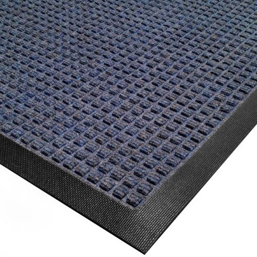 Cactus Mat 1425M-U41 Water Well I 4' x 10' Classic Carpet Mat - Blue Main Image 1