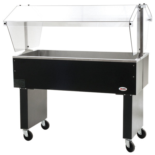 "Eagle Group BPCP-3 48"" Deluxe Service Mates Portable Ice-Cooled Buffet Table with Open Base"