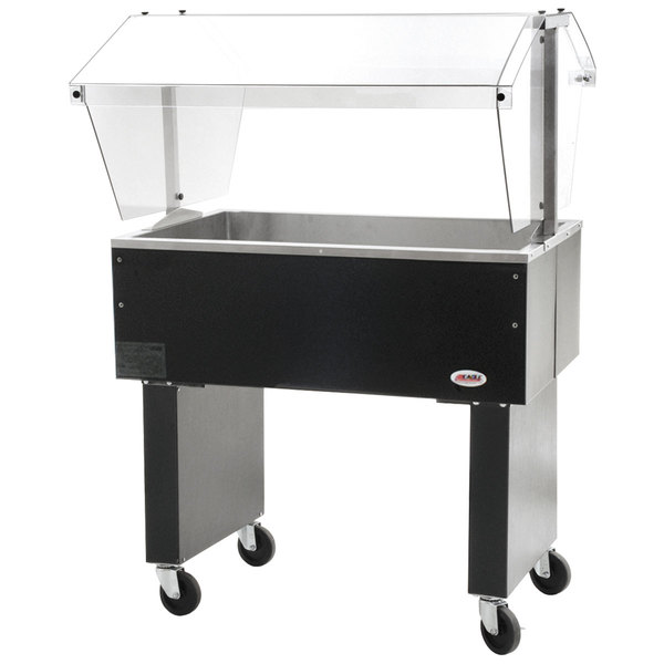 """Eagle Group BPCP-2 33"""" Deluxe Service Mates Portable Ice-Cooled Buffet Table with Open Base"""