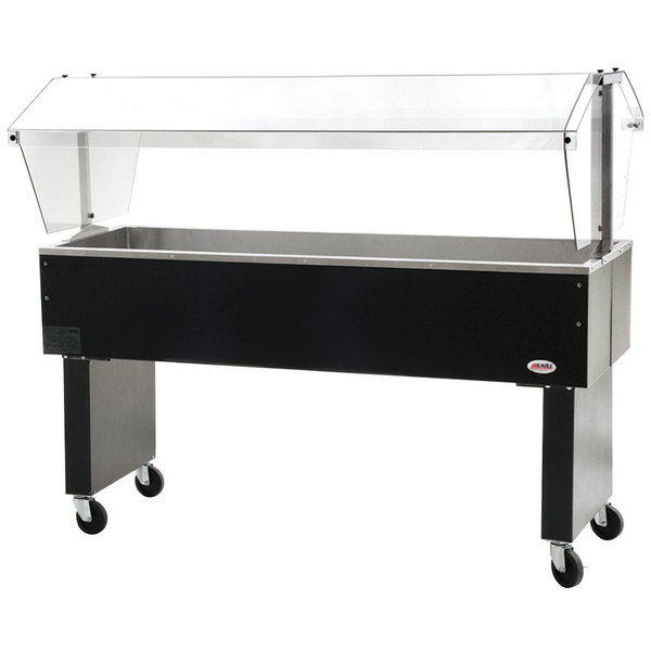 """Eagle Group BPCP-4 63 1/2"""" Deluxe Service Mates Portable Ice-Cooled Buffet Table with Open Base Main Image 1"""