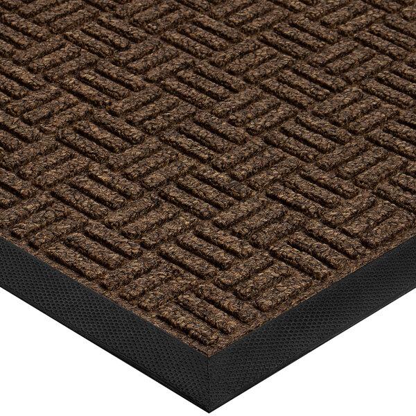 Cactus Mat 1426M-G41 Water Well II 4' x 10' Parquet Carpet Mat - Walnut Main Image 1