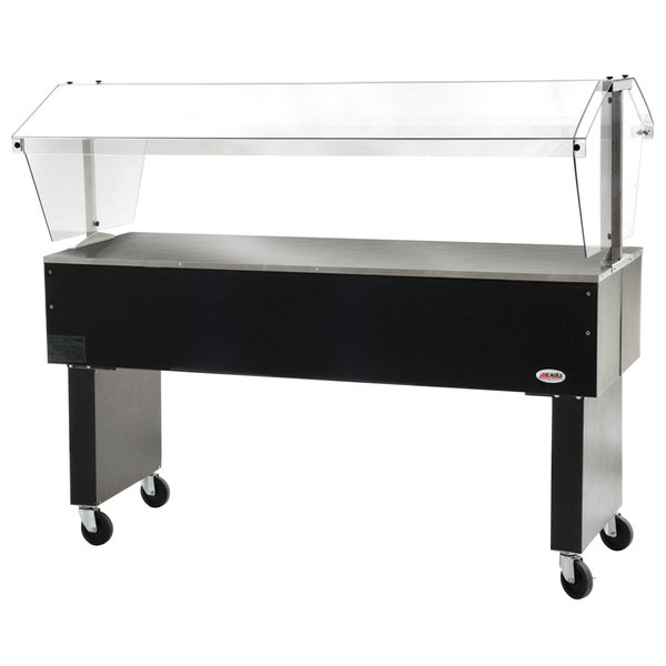 """Eagle Group BPST-4 63 1/2"""" Deluxe Service Mates Solid Top Buffet Table with Open Base"""