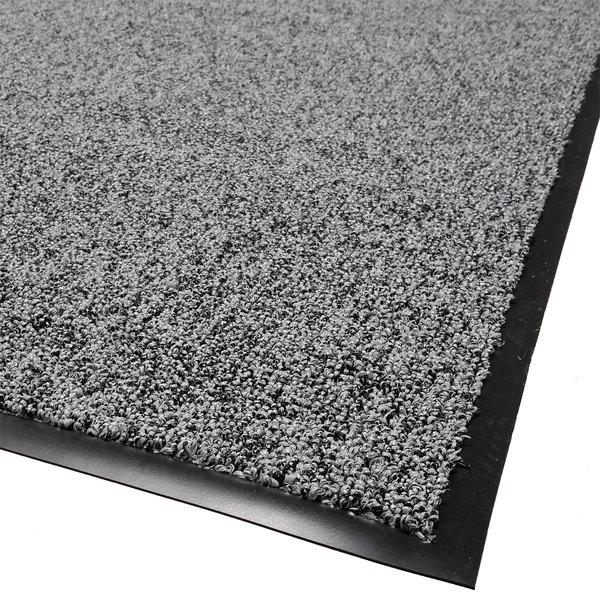 Cactus Mat 1465R-L3 Twist-Loop 3' x 60' Scraper Mat Floor Roll - Charcoal