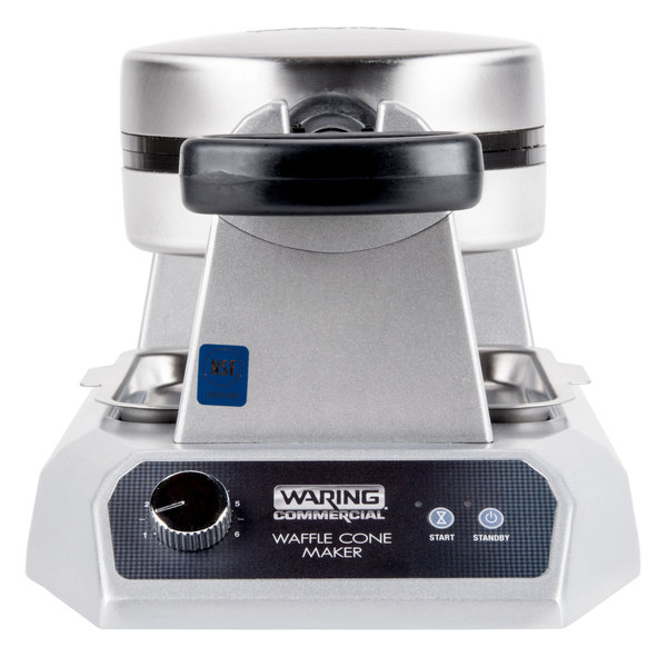 Waring WWCM180 Single Waffle Cone Maker - 120V