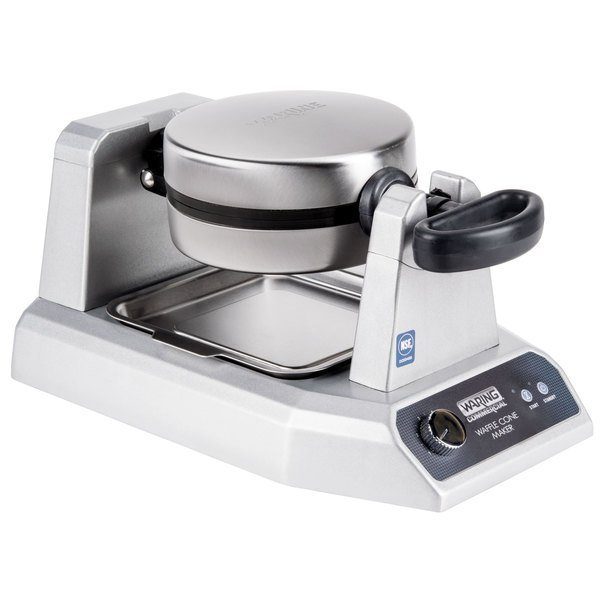 bake fresh homemade waffle cones for your with the waring wwcm180 single waffle cone maker - Waring Pro Waffle Maker
