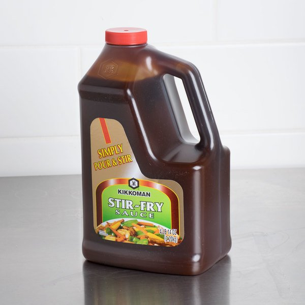 Kikkoman Stir-Fry Sauce .5 Gallon Container - 6/Case Main Image 3