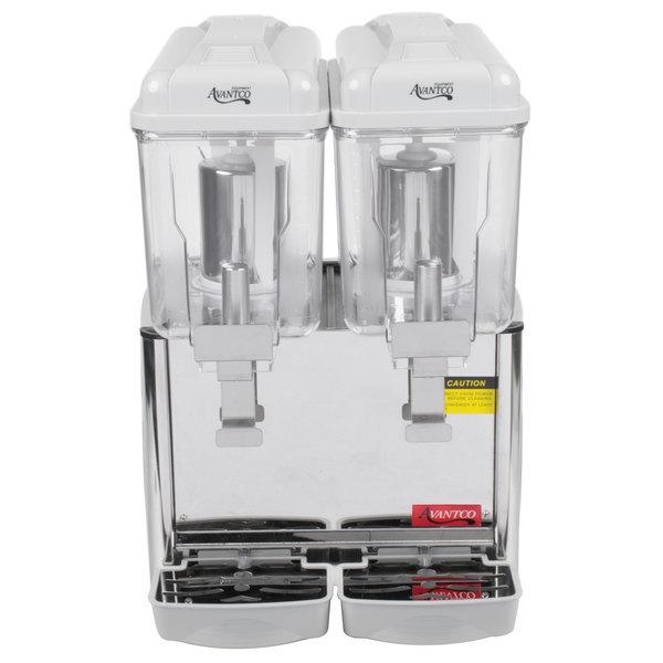 Avantco RBD32 Double 3 Gallon Bowl Refrigerated Beverage Dispenser