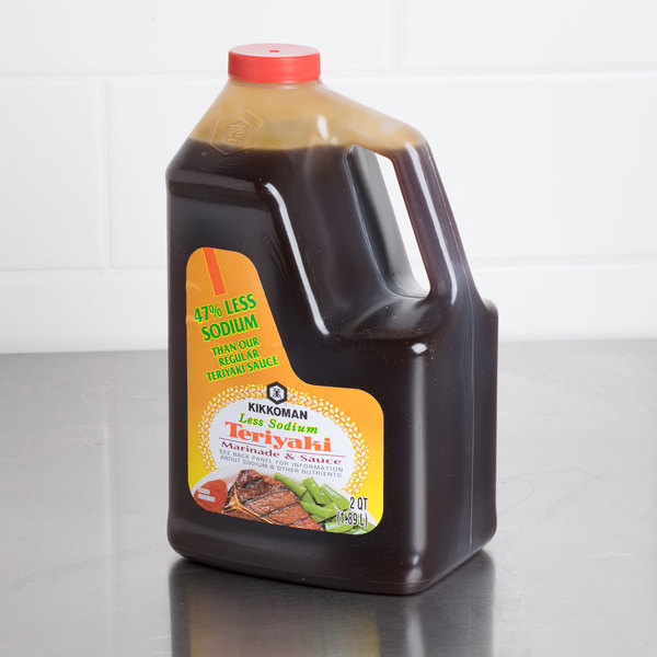 Kikkoman .5 Gallon Less Sodium Teriyaki Marinade and Sauce Main Image 2