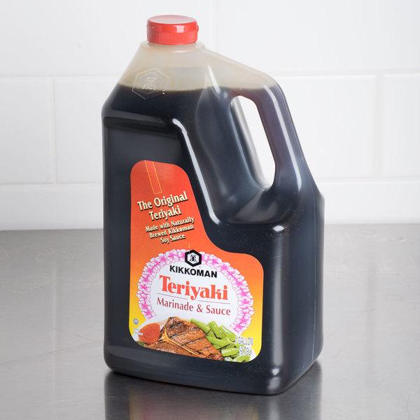 Kikkoman 1 Gallon Teriyaki Marinade and Sauce