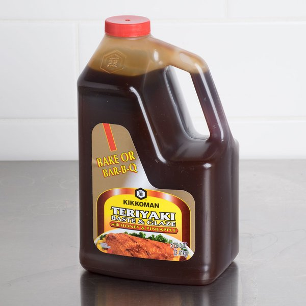 Kikkoman 5lb Teriyaki Baste & Glaze with Honey & Pineapple - 6/Case Main Image 3
