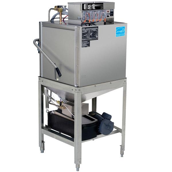 CMA Dishmachines EST-AH Door Type, Single Rack, Low Temperature Straight Dishwasher - 115V