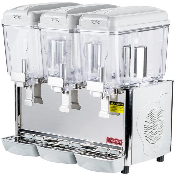 Avantco Rbd33 Triple 3 Gallon Bowl Refrigerated Beverage