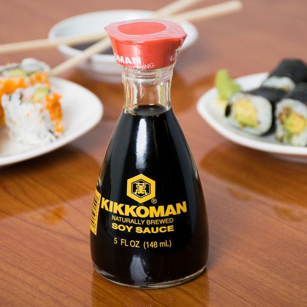 Kikkoman 5 fl. Oz. Traditionally Brewed Soy Sauce Dispenser