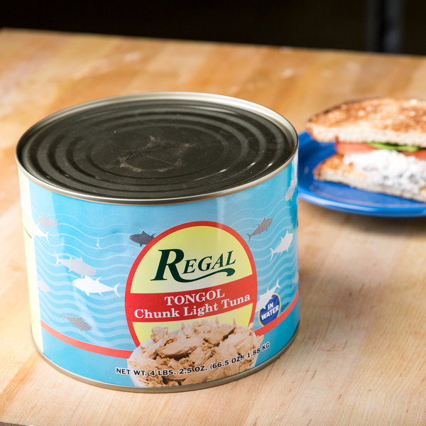Regal Foods Tongol Chunk Tuna - 66.5 oz. Can