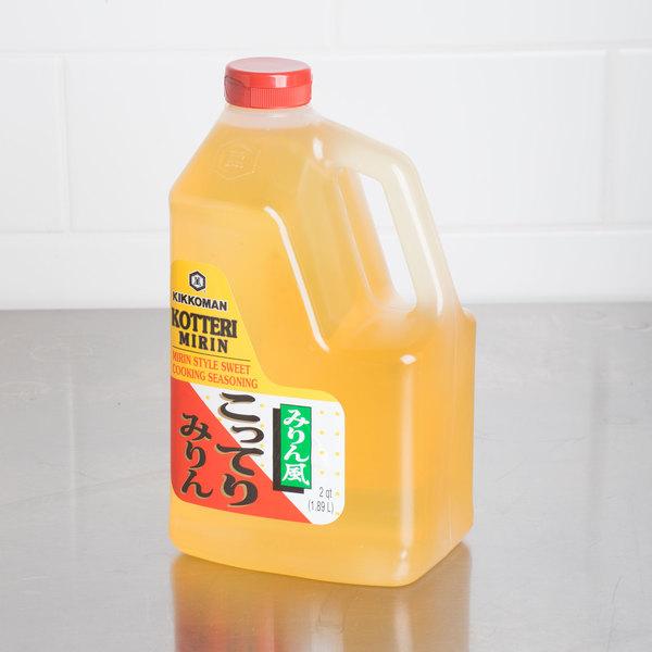 Kikkoman .5 Gallon Kotteri Mirin Sweet Seasoning - 6/Case