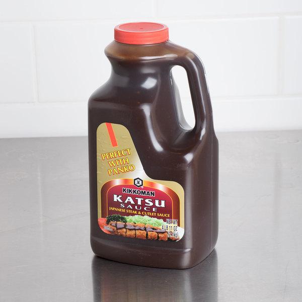 Kikkoman 5 lb. Katsu Sauce - 6/Case Main Image 3