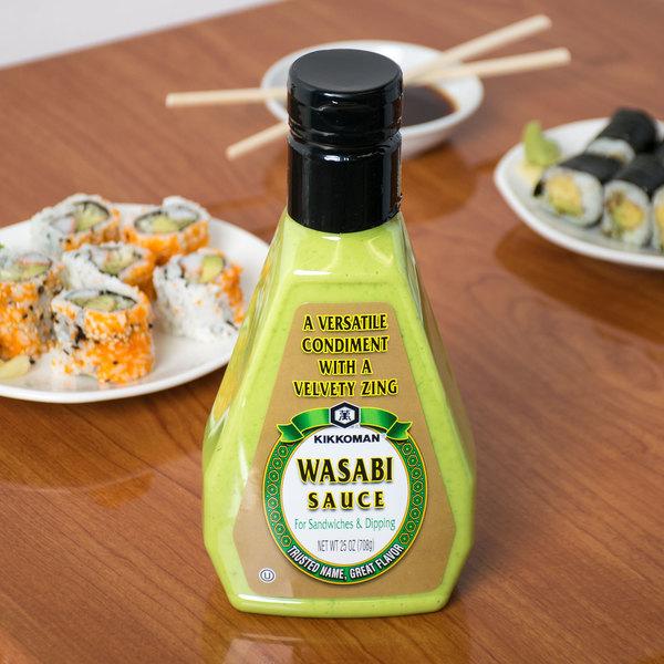 Kikkoman 25 oz. Wasabi Sauce Main Image 2