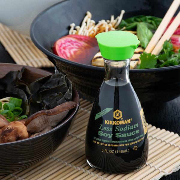 how do you open kikkoman soy sauce