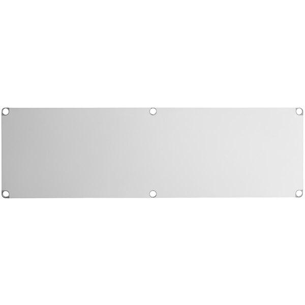 """Regency Adjustable Stainless Steel Work Table Undershelf for 30"""" x 84"""" Tables - 18 Gauge Main Image 1"""
