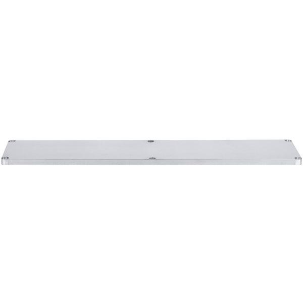 """Regency Adjustable Stainless Steel Work Table Undershelf for 30"""" x 84"""" Tables - 18 Gauge"""