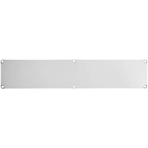 """Regency Adjustable Stainless Steel Work Table Undershelf for 24"""" x 96"""" Tables - 18 Gauge Main Image 1"""