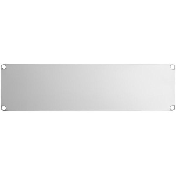"""Regency Adjustable Stainless Steel Work Table Undershelf for 24"""" x 72"""" Tables - 18 Gauge Main Image 1"""