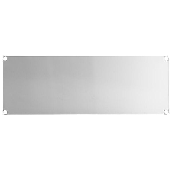 """Regency Adjustable Stainless Steel Work Table Undershelf for 30"""" x 72"""" Tables - 18 Gauge Main Image 1"""