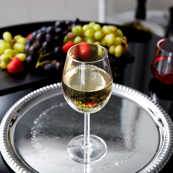 GET SW-1446-CL 15 oz. Tritan Plastic White Wine Glass