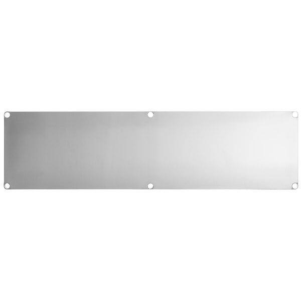 """Regency Adjustable Stainless Steel Work Table Undershelf for 30"""" x 96"""" Tables - 18 Gauge Main Image 1"""