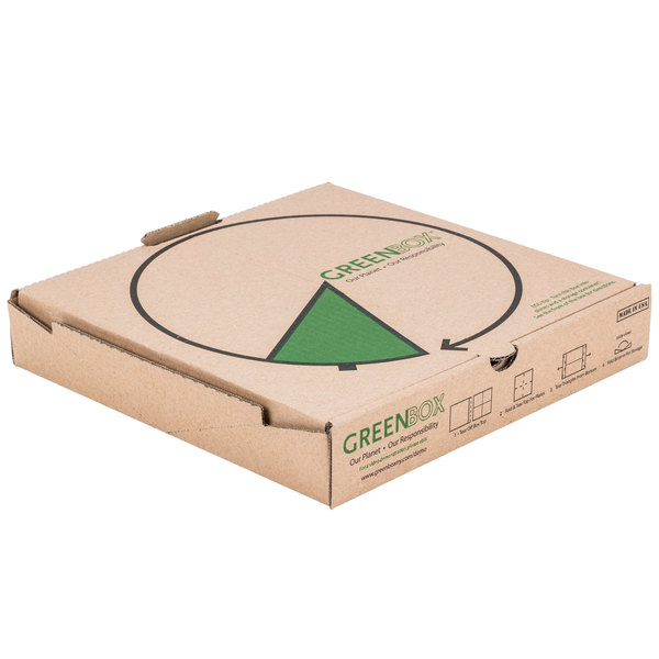 """Case Of 100 12"""" Pizza Boxes Recycled"""