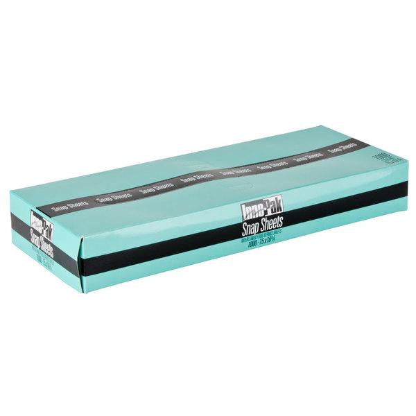 "Box of 1000 15"" X 10 3/4"" Plastic Deli Wrap and Bakery Wrap"